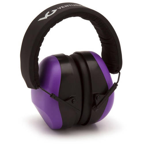 Venture Gear NRR 26 dB Low Profile Ear Muff, Purple