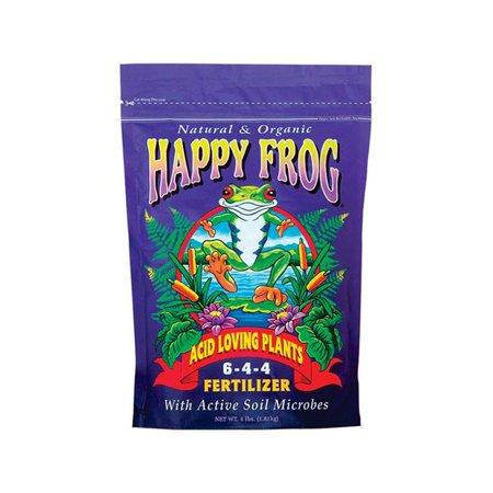 Foxfarm 7739345 Happy Frog Acid Loving Plants Organic Fertilizer, 4