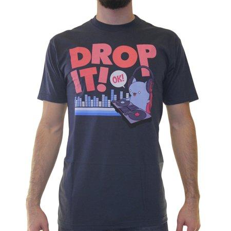 Bravest Warriors Drop It  Mens Blue T Shirt New Sizes S 3Xl