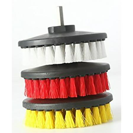 Drill Brush Rotary Brush Cleaning Kit Set Of 3 Brushes