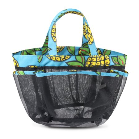 a7573d2ae472 Zodaca Lightweight Mesh Shower Caddie Tote Carry Bag Hanging Toiletry Bath  Organizer for Sports Travel Gym - Multi-color Pineapple | Walmart Canada