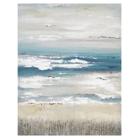 Masterpiece Art Gallery Distant Horizon Light On The Coast By Tava Studios Canvas Art Print 22