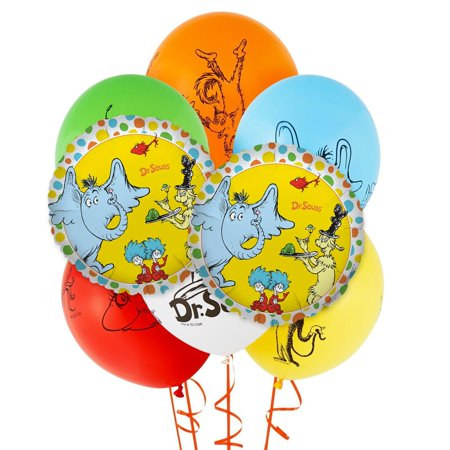 Dr. Seuss Favorites 8 pc Balloon Kit - Dr Seuss Party Decorations