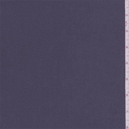 Vapor Grey  Satin Chiffon, Fabric By the Yard