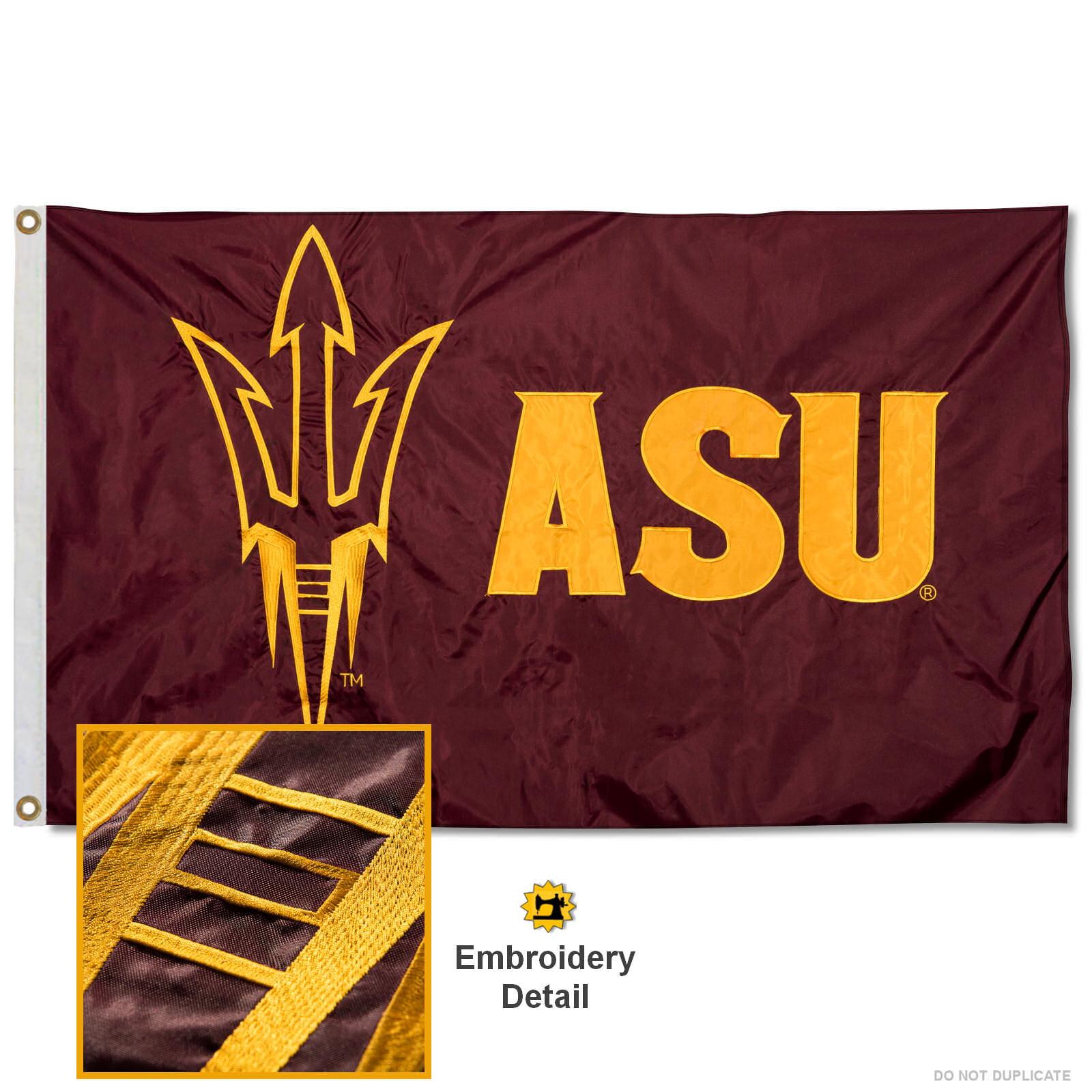 ASU Sun Devils 3' x 5' Nylon Embroidered Flag