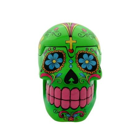 Day of the Dead Sugar Skull Hidden Stash Box