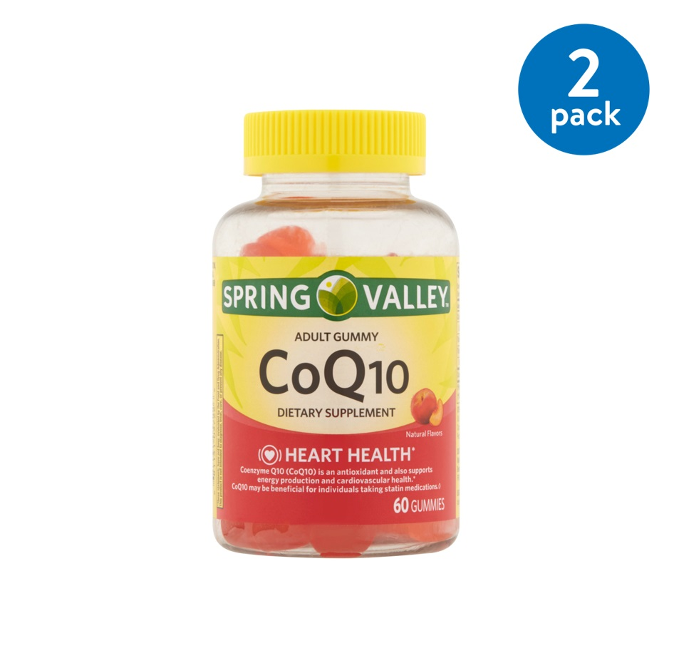 Spring Valley CoQ10 Adult Gummies, 200 Mg, 60 Ct