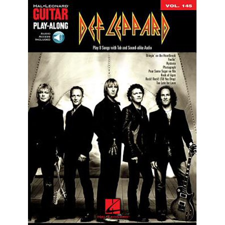 Def Leppard : Guitar Play-Along Volume 145