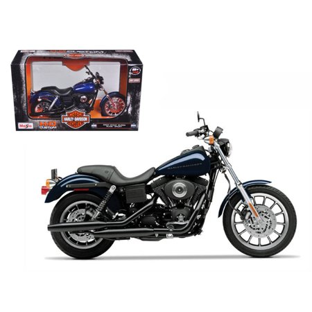 Newer Dyna Models (2004 Harley Davidson Dyna Super Glide Sport Bike Motorcycle 1/12 Model by Maisto )