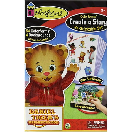 Colorforms Create-A-Story Daniel Tiger