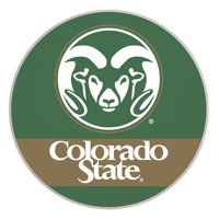 Colorado State Rams Paper Coaster 4 Pack