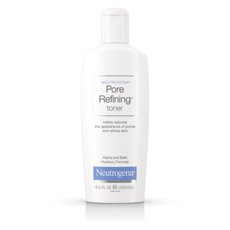 Ultrasheer Toner (Neutrogena Pore Refining Facial Toner with Witch Hazel, 8.5 fl.)