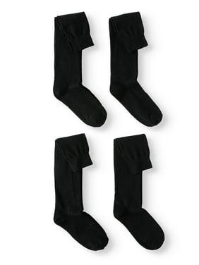 Jefferies Socks Kids Socks, 4 Pack School Uniform Cotton Knee High Socks (Little Kids & Big Kids)