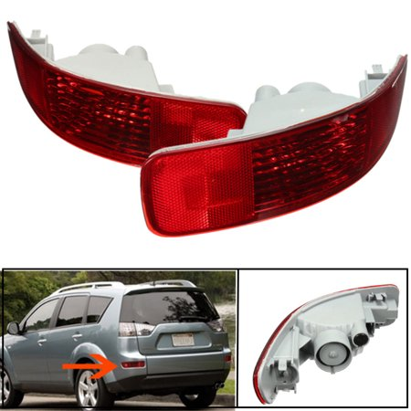 MATCC 1pc Rear Tail Fog Light For Mitsubish Outlander 07-12 Left Right 8355A004 8352A005,left color