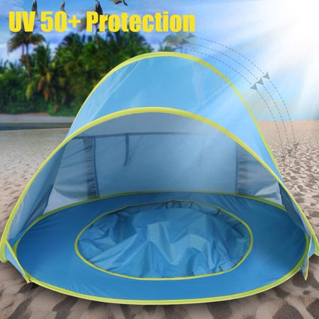 Zerone Portable Infant Uv Protection Baby Play Tent Beach Waterproof Shade Pool Sun Shelter