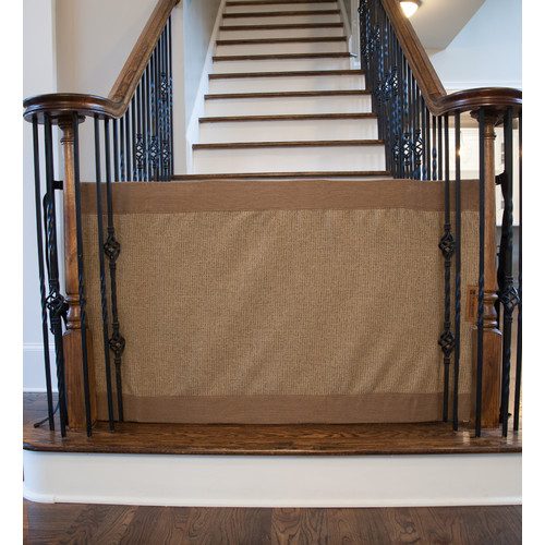The Stair Barrier Banister to Banister Safety Gate by The Stair Barrier