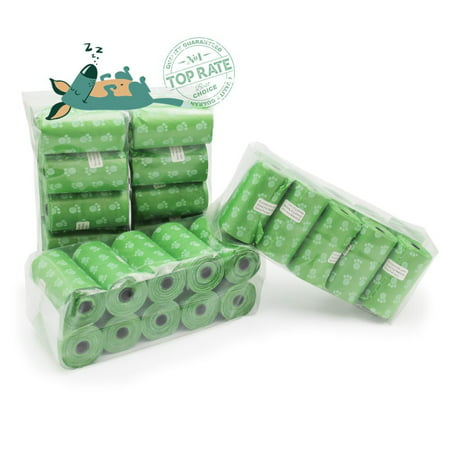 ecojeannie 800 count 40 rolls dog poop bags environment friendly w - Dog Waste Bags