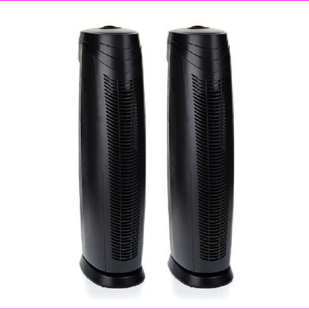 Hunter 2-pack Large HEPAtech Air Purifiers with ViroSilver Pre-Filter,Black,$300 Hunter 2-pack Large HEPAtech Air Purifiers with ViroSilver Pre-Filter,Black,$300