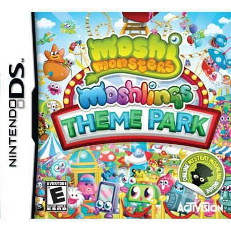 Moshi Monsters 2:Moshlings Theme Park, Activision Blizzard, NintendoDS,