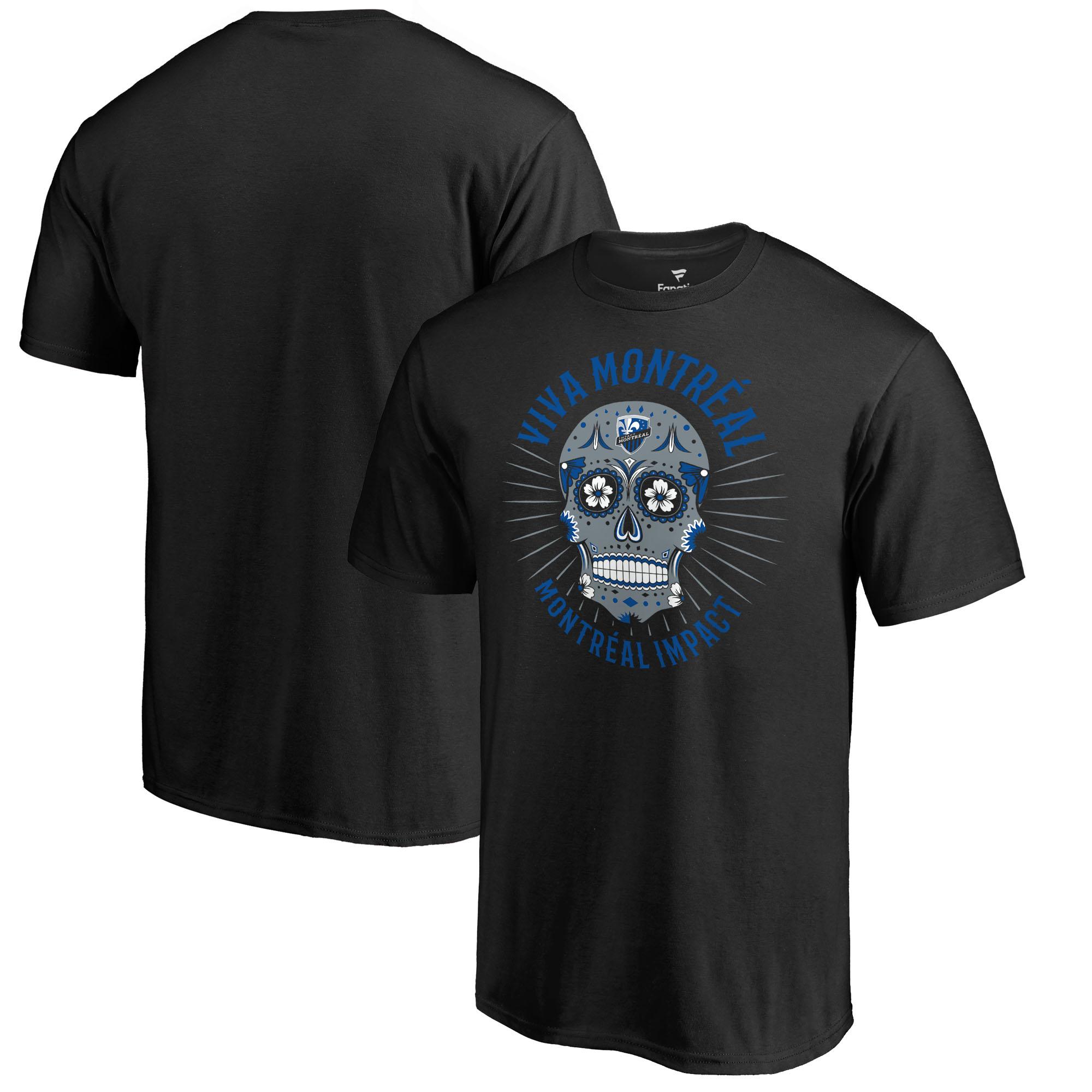 Montreal Impact Fanatics Branded Hispanic Heritage Viva T-Shirt T-Shirt - Black