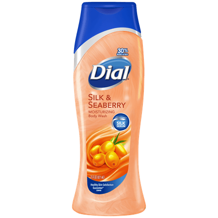 Dial Moisturizing Body Wash, Silk & Seaberry scent, 21 Ounce (Turn Counter Dial)