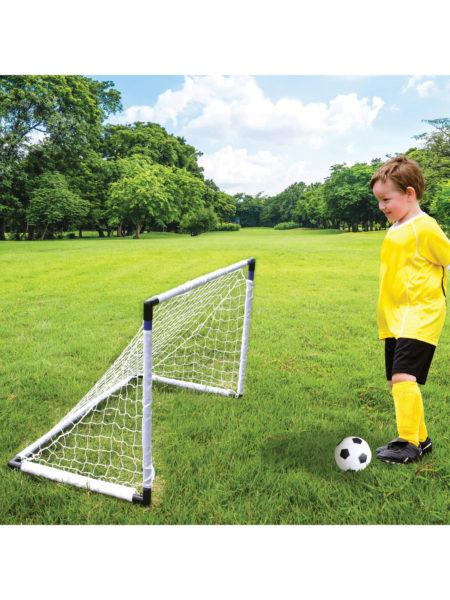 2 in 1 Soccer & Hockey Game Set (Available in a pack of 1) by SWM