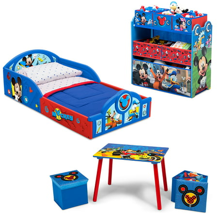 Prime Disney Mickey Mouse 5 Piece Toddler Bedroom Set By Delta Pdpeps Interior Chair Design Pdpepsorg