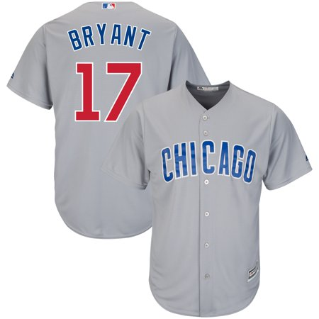 buy popular 33a99 7b643 Kris Bryant Chicago Cubs Majestic Cool Base Player Jersey - Gray