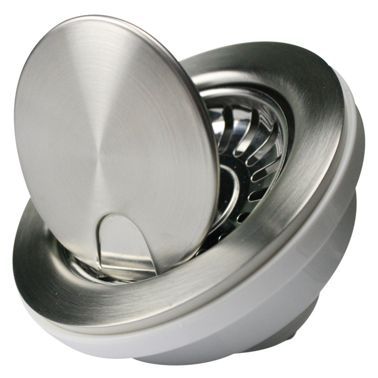 Nantucket Sinks NS35LCC Flip Top Crumb Cup Kitchen Drain