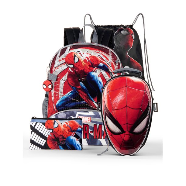 Spider-Man 5-Piece Backpack Set
