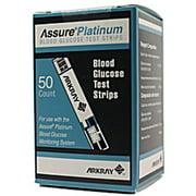Assure Platinum Blood Glucose Test Strips