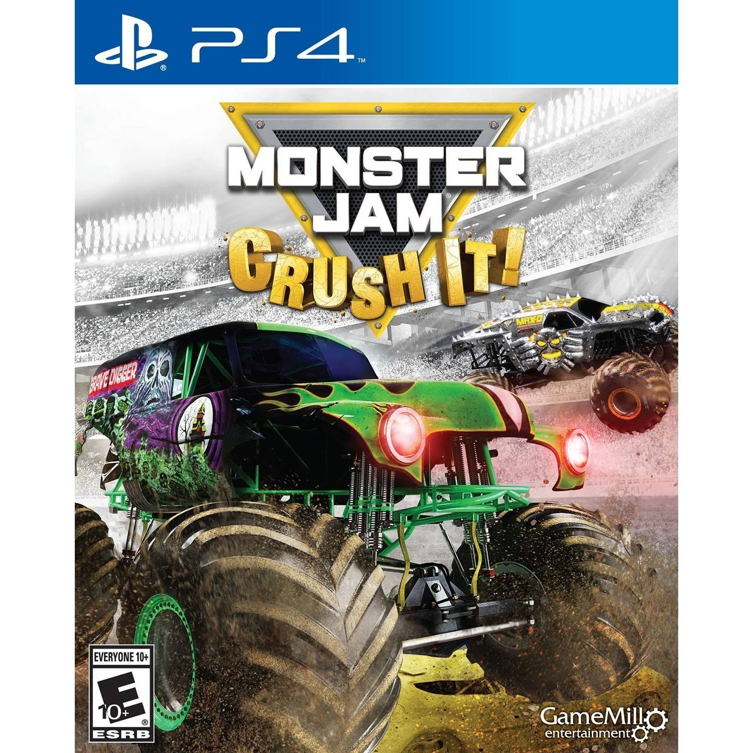 Monster Jam (Playstation 4) by MADCOW