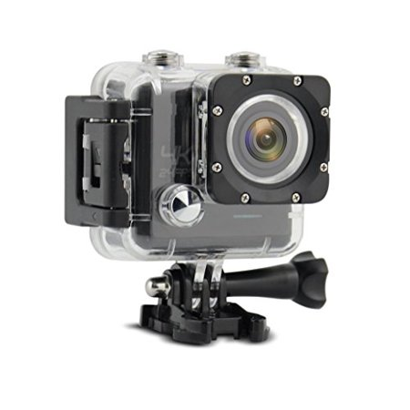 TechComm AT43W 4K 16MP Sony IMX078 CMOS Waterproof Action Camera