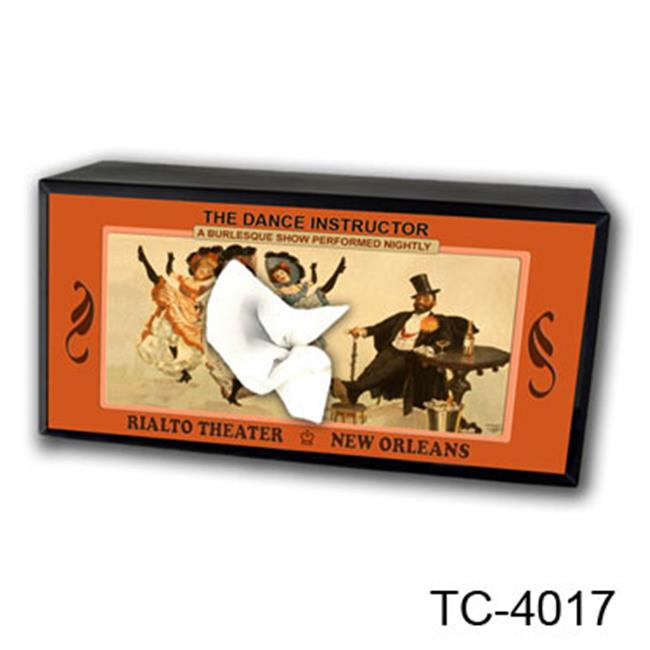Caravelle Designs TC-4017 Rialto TopHat Tissue Box Cover