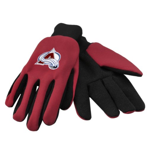 Colorado Avalanche Work Gloves by Forever Collectibles