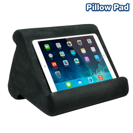 Pillow Pad Multi Angle Cushioned Tablet and iPad Stand, Gray, As Seen on TV