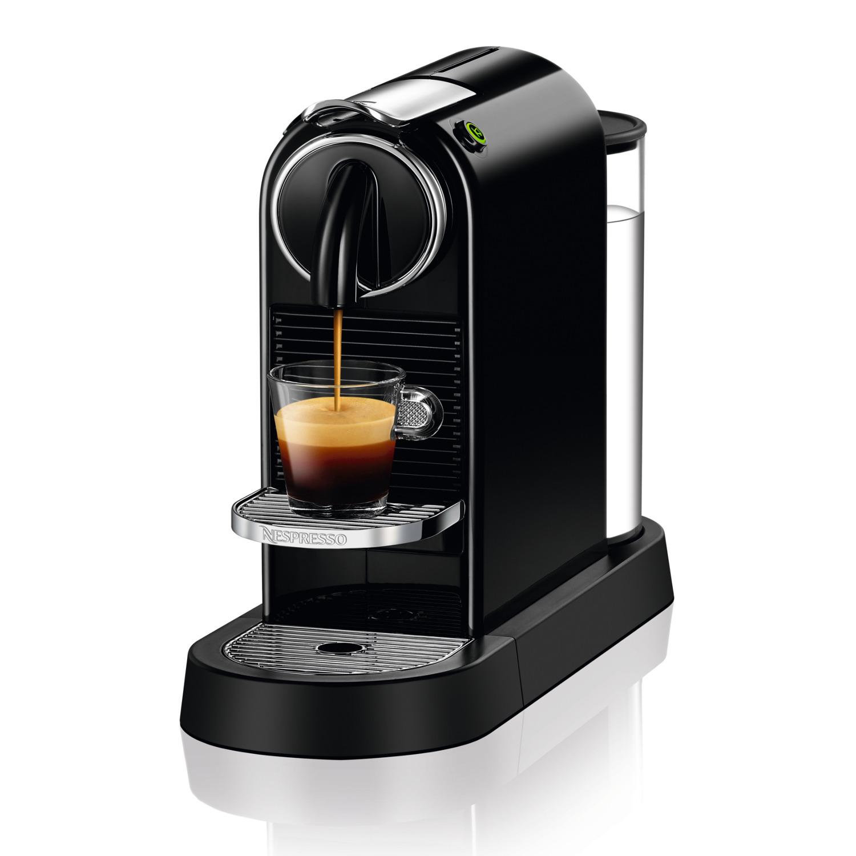 Nespresso CitiZ D112 Black Single Serve Espresso Machine by Nespresso