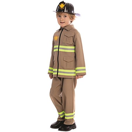 Dress Up America KJ Firefighter Costume - Size Large (12-14)