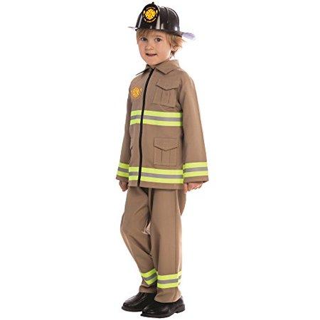 Dress Up America KJ Firefighter Costume - Size Large - Firefighter Dress Up