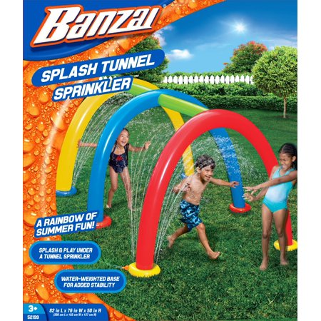 Banzai Splash Tunnel Sprinklers