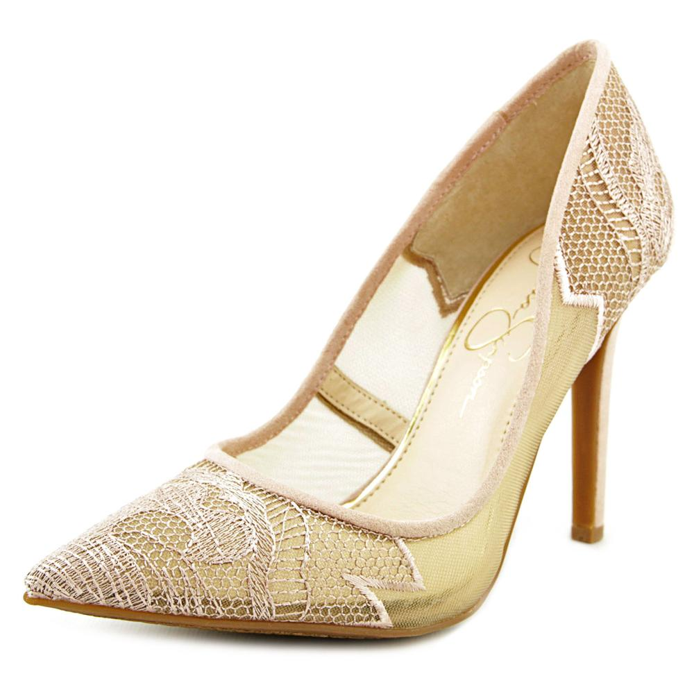 Jessica Simpson Camba Women  Pointed Toe Synthetic Pink Heels