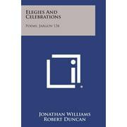 Elegies and Celebrations : Poems, Jargon 13b