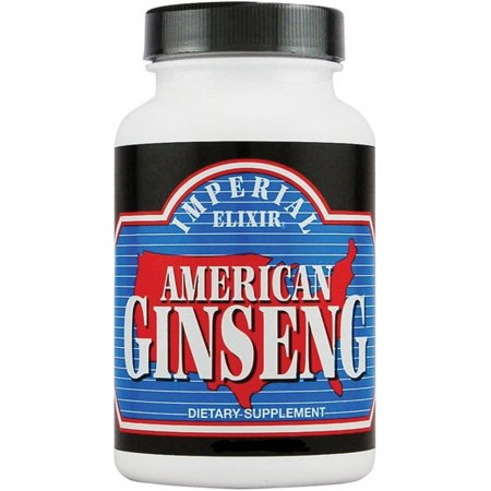 Imperial Elixir Le ginseng américain, 50 CT