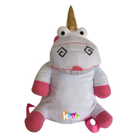 Universal Studios Despicable Me Minions Unicorn Soft Plush Backpack New With Tag