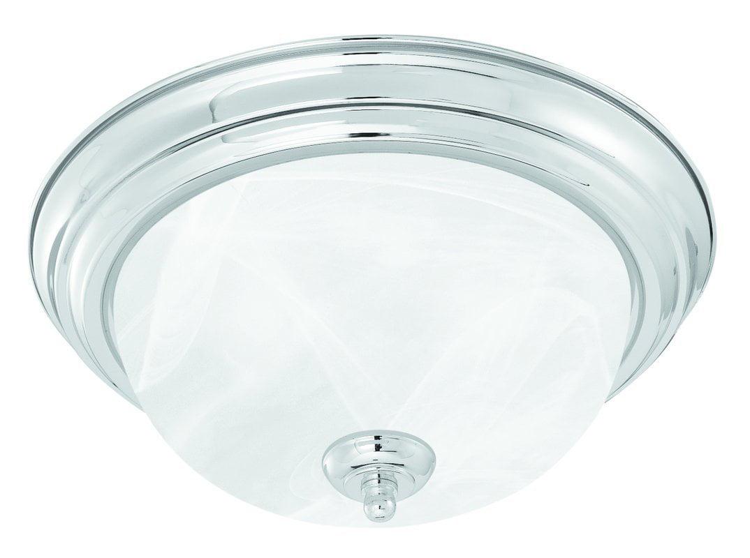 Ceiling Essentials 2 Light Flush Mount, Thomas Lighting By Thomas Lighting by