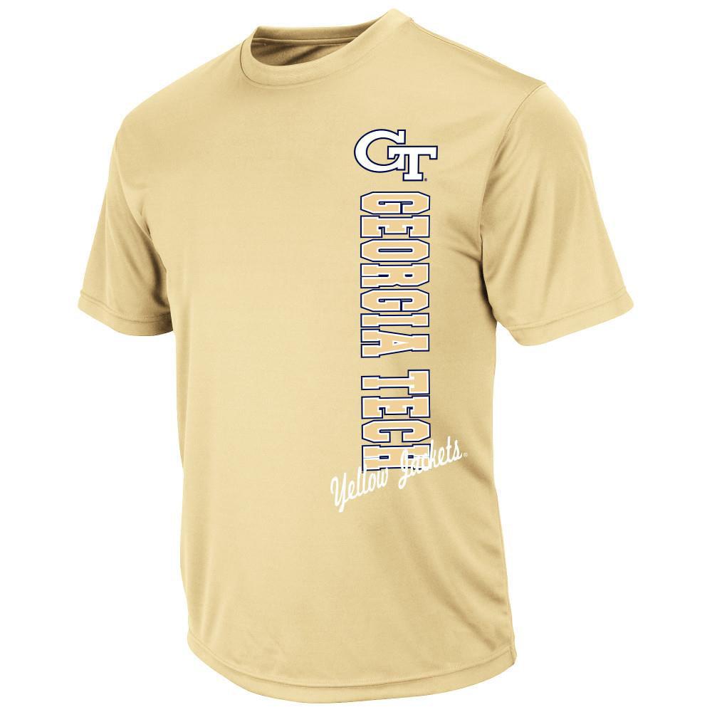 Mens NCAA Georgia Tech Yellow Jackets Short Sleeve Tee Shirt (Team Color) by Colosseum