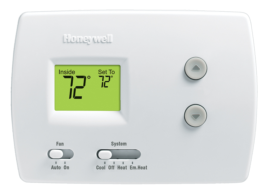 Honeywell Digital Heat Cool Pump Thermostat (RTH3100C1002 E1) by Honeywell