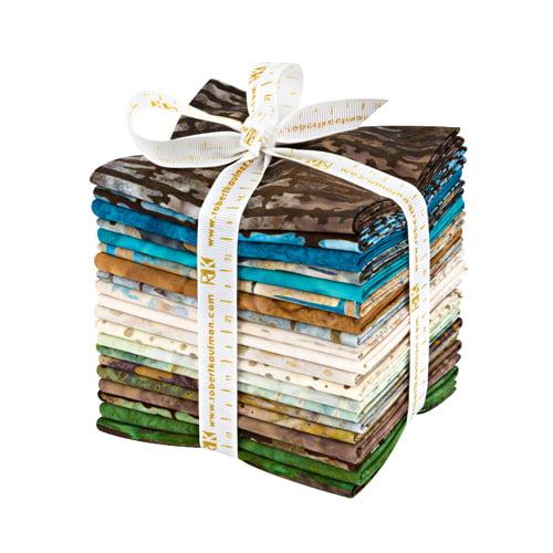 Robert Kaufman Texture Study Batiks Fat Quarter Bundle 20 Precut Fabric Quilting FQs Lunn Studios FQ-1222-20