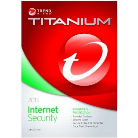 Trend Micro Titanium Internet Security 2013 3 Users