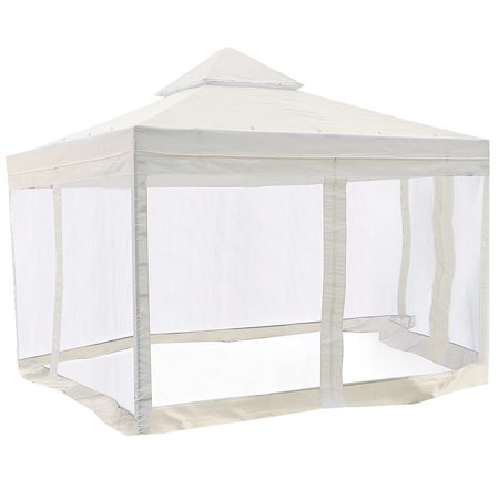Yescom 2 Tier 10x10' Replacement Gazebo Canopy Patio Top Cover Outdoor ()
